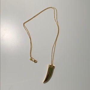 Gorjana Long layering gold necklace